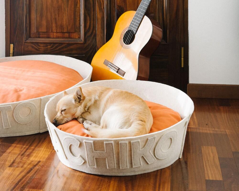 Dog house Small medium dog bed Customized dog bed white Dog