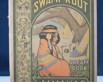 1941 Dr. Kilmer & Co Swamp Root Almanac Dream Book Binghampton NY