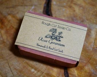 Rose Geranium Cold Process Soap