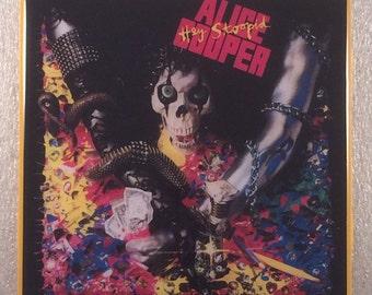 ALICE COOPER Hey Stoopid Record Cover Ceramic Tile Coaster
