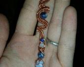 Custom Wire Lock Wrap (for Emily M.)