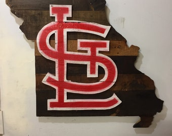 St. Louis Cardinals Pallet Wood Wall Sign