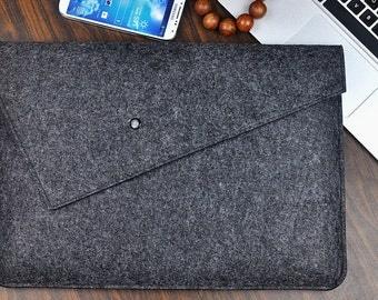 MacBook pro 17 case,Felt laptop case,laptop bag 17 inch,MacBook pro sleeve, 17 inch laptop sleeve ,Custom Other Size. 2D26