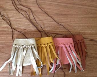 Little girls tassl bags