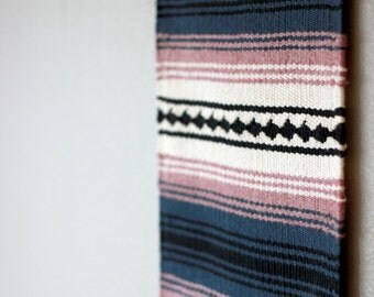 """hand woven wall hanging // tapestry // """"dawn"""""""