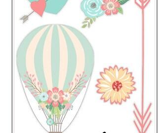 G012- Hot Air Balloon Style 1
