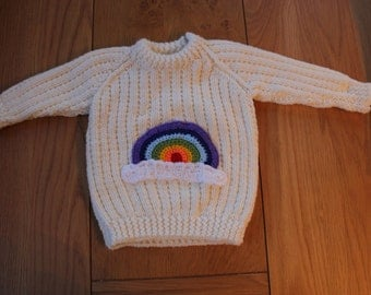 Rainbow Toddler Jumper