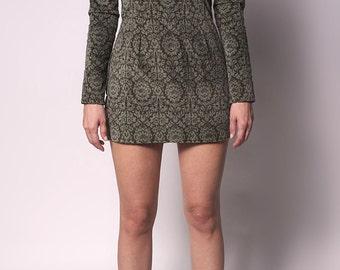 Turtleneck Collar Dress