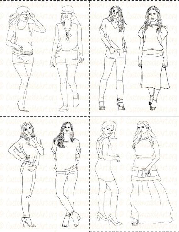 87 Birth Of Fashion Coloring Book Pdf