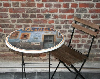 French Style Bistro Table - Facade