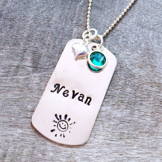 Leo Zodiac Sign Laser Engraved Aluminum Dog Tag Necklace: Dog Tag Necklace For Kids Personalized Aluminum Dog Tag