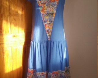 80's In The Hamptons Dress