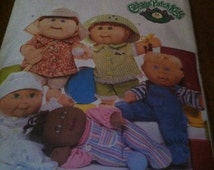 Butterick 3932 Cabbage Patch baby doll clothing patterns NEW