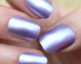 Silver Violetts - Handmade Indie Nail Polish - by Vuuxi