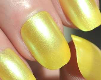 Hello Yellow Nail Polish - Handmade Indie Nail Polish - by ENIGMA