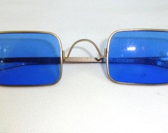 Blue sunglasses vintage