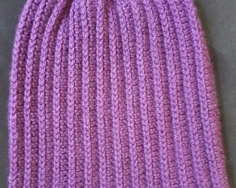 Handmade Slouchy Crocheted Hat