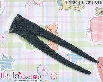 Middie Blythe (MP-11) Doll Pantyhose # Net Dark Slate Gray
