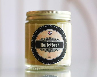 Butterbeer (4 oz) Soy Candle