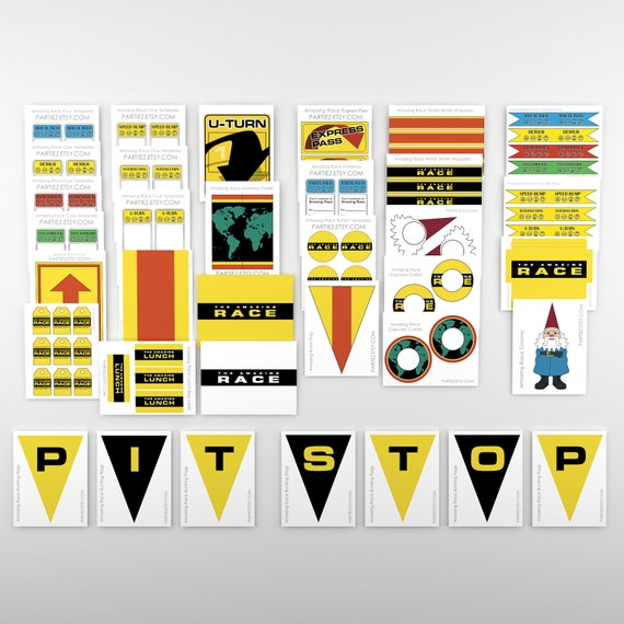 Amazing race party printables pictures to pin on pinterest for The amazing race clue template