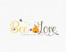 Honey Bees Logo Design Bee Logo Boutique Logo Design Photography Logo
