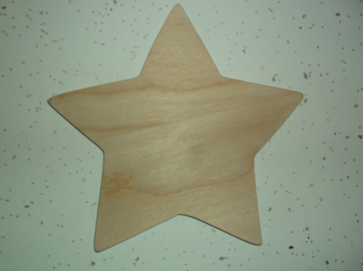 Unfinished Wood Star Wooden Star Star Cut Out Star Shape