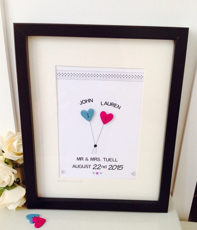 Personalised Wedding Frames Personalised Wedding Gifts