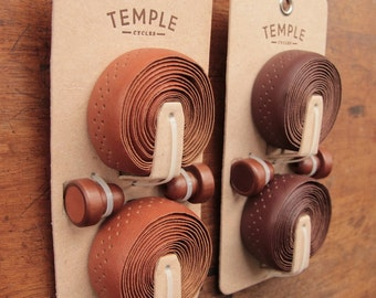 Premium Leather Bicycle handlebar wrap , bartape - Temple Cycles - Quality cycling parts and accessories bar tape