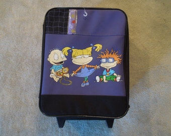 HALF OFF SALE 90s Rugrats Travel Suitcase