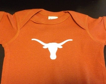 Texas Longhorns Onesie