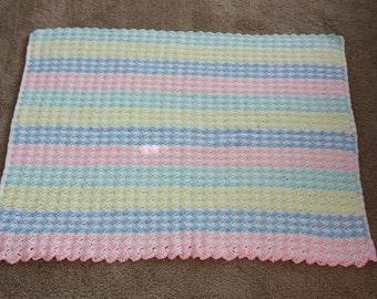 Crochet Baby Stroller Blanket