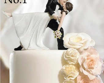Resin Bride And Groom Wedding Cake Topper Proposal Couple Photo Remember Romantic