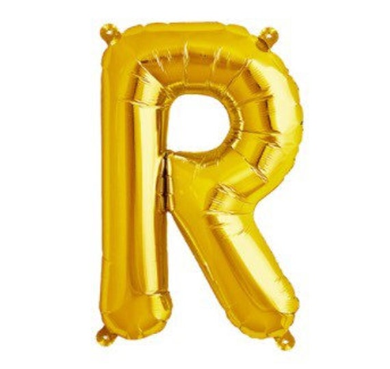 gold letter balloons r letter balloon 16 and 34 letters gold balloons 21960 | il 570xN.818320946 6t2x