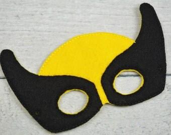 Wolf Mutant Children's Felt Mask  - Costume - Theater - Dress Up - Halloween - Face Mask - Pretend Play - Party Favor