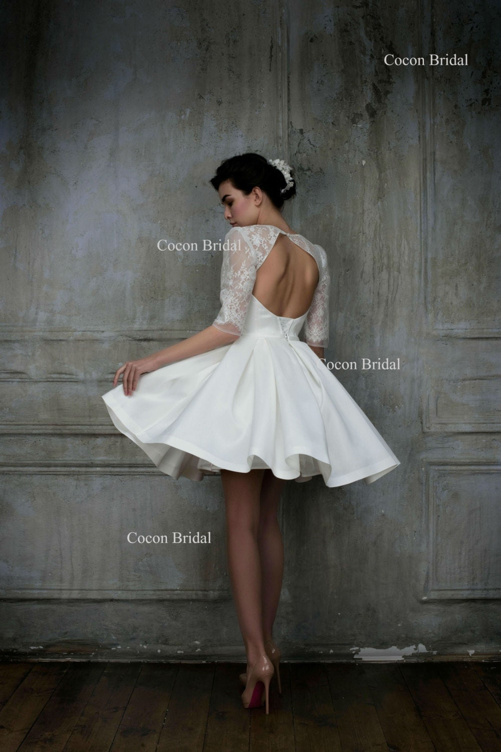 Modern wedding dress - Etsy