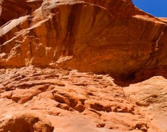 Arches Canyon National Park, Arch, Utah, Rolling, Canyon Land, Abstract, Sandstone