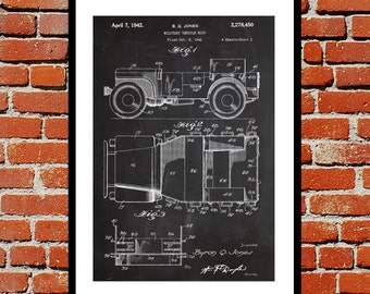 Willy's Jeep Print, Willy's Jeep Poster, Willy's Jeep Art, Willy's Jeep Patent, Willy's Jeep Blueprint, Willy's Jeep Wall Art