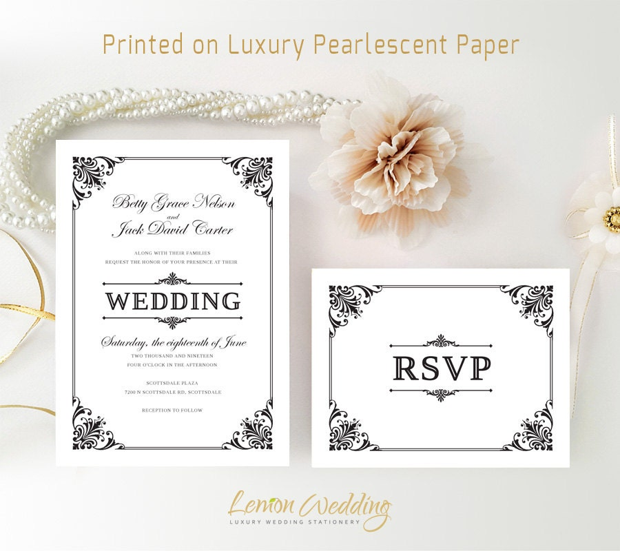Cheap Weding Invitations With Rsvp 03 - Cheap Weding Invitations With Rsvp