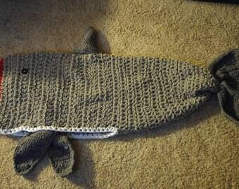 Chunky Shark blanket