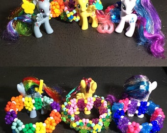 My little pony cuffs!