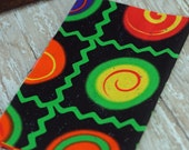 ALMOST a Fat Quarter, Psychedelic Fabric , 100% Cotton Fabric, Sewing and Crafting Supply #322 ok