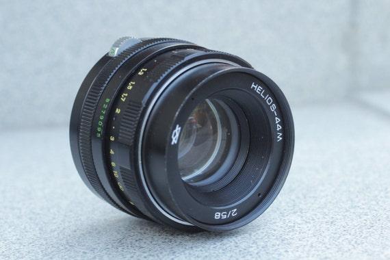 HELIOS 44M Soviet SLR Lens Pentax Praktica Zenit M42 Zeiss Biotar based 太阳神 N95