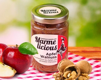 Apple Walnut fruit spread