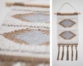 Hand Woven Wall Hanging // Tapestry // Weaving // Fiber Art