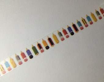 Back To School Pencil Washi Tape