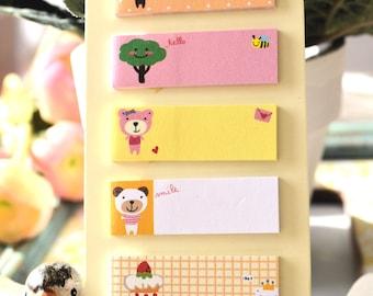 Cute Kawaii Animal Cartoon FUNNY BEAR Sticker Note/ Diary/ Scrapbooking