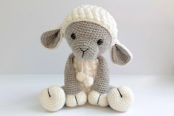 Free Crochet Amigurumi Lamb : PATTERN : Sheep / Lamb Amigurumi Sheep Amigurumi by Anatillea
