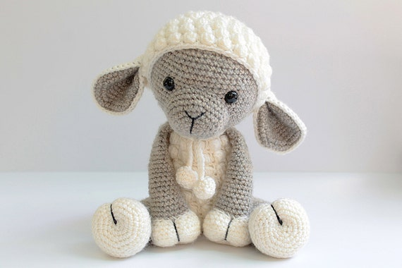Amigurumi Crochet Lamb : PATTERN : Sheep / Lamb Amigurumi Sheep Amigurumi by Anatillea