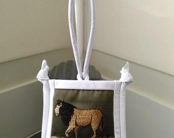 King Lion wristlet/pouch