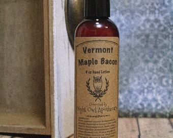Vermont Maple Bacon Hand Lotion